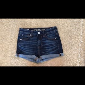 American Eagle shorts-hi-rise shortie